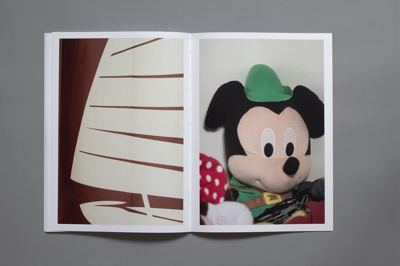 Les Brenets - Camping, child's room, Mickey Mouse, book, photography
