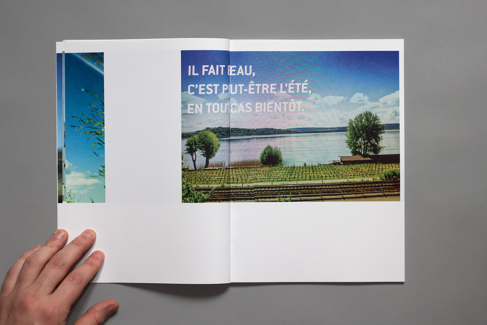 La Neuveville, book, Lac de Bienne, railways, vineyards, Google Street View, photography