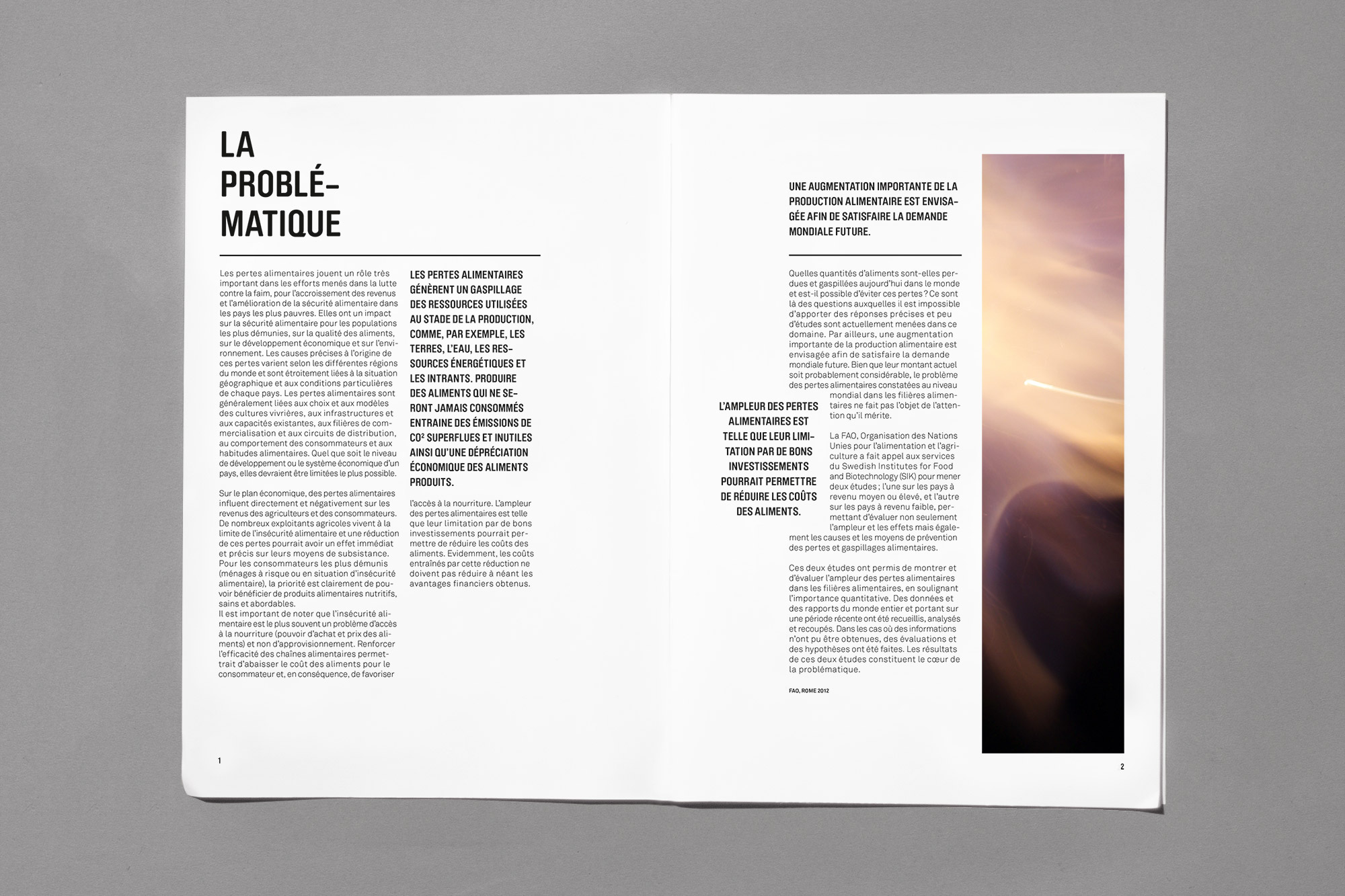 Gaspillage alimentaire yan vuill me for Architecture et tendances magazine