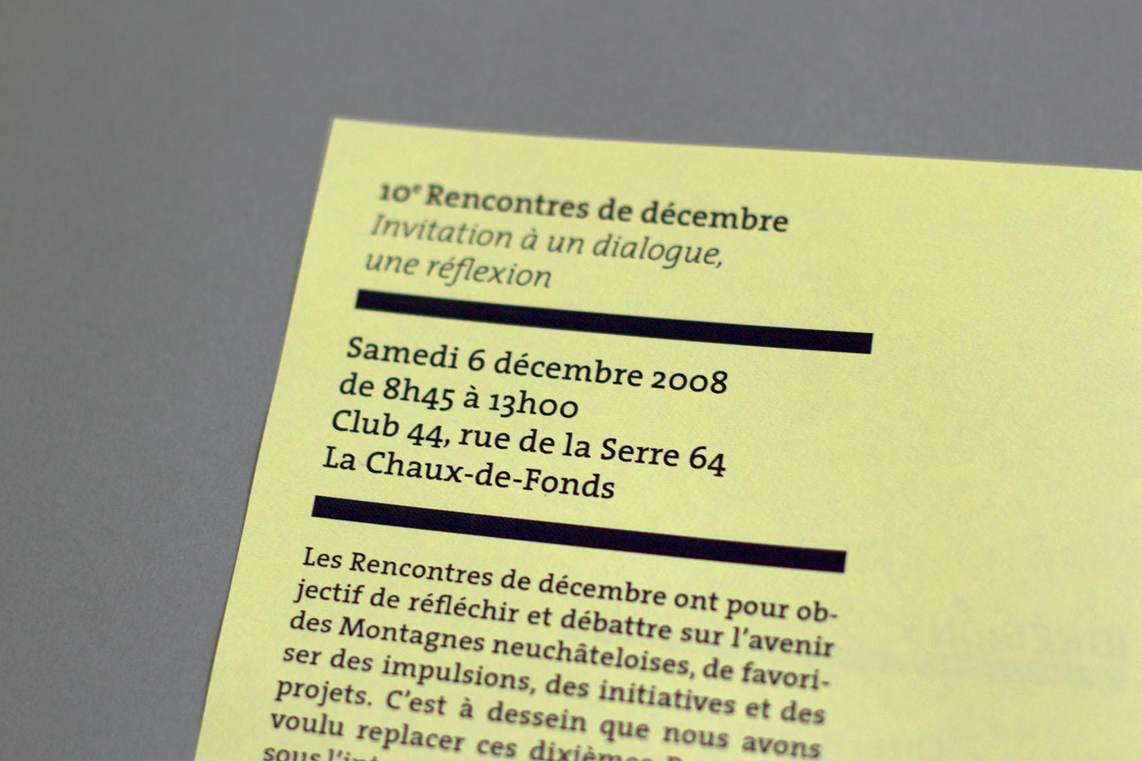 ID Régions, citizen forum, program, meeting, visual identity