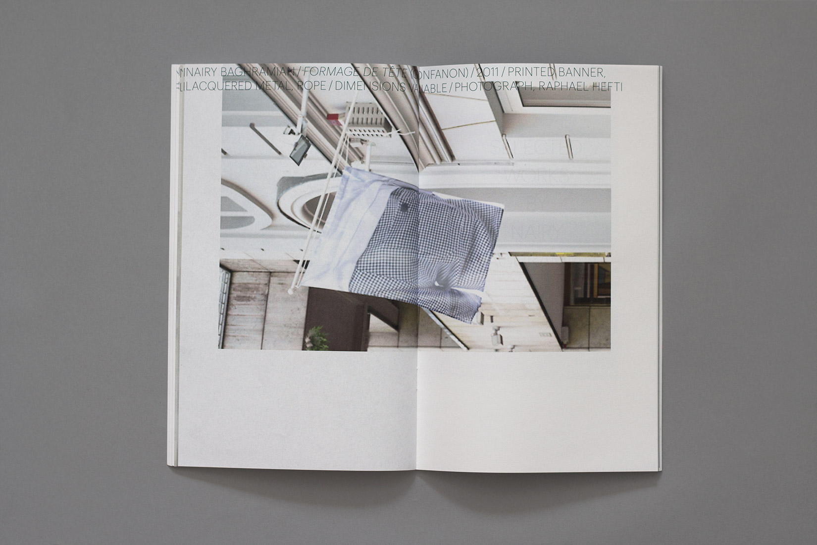 Livre d'artiste, Nairy Baghramian, Selected works by Nairy Baghramian
