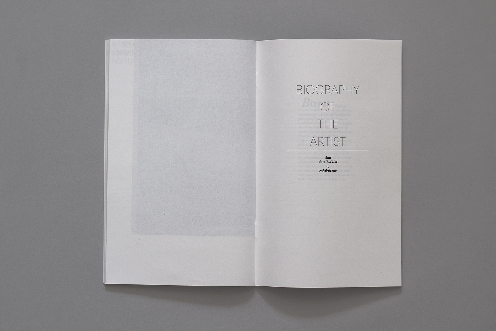 Livre d'artiste, Nairy Baghramian, Biography of the artist