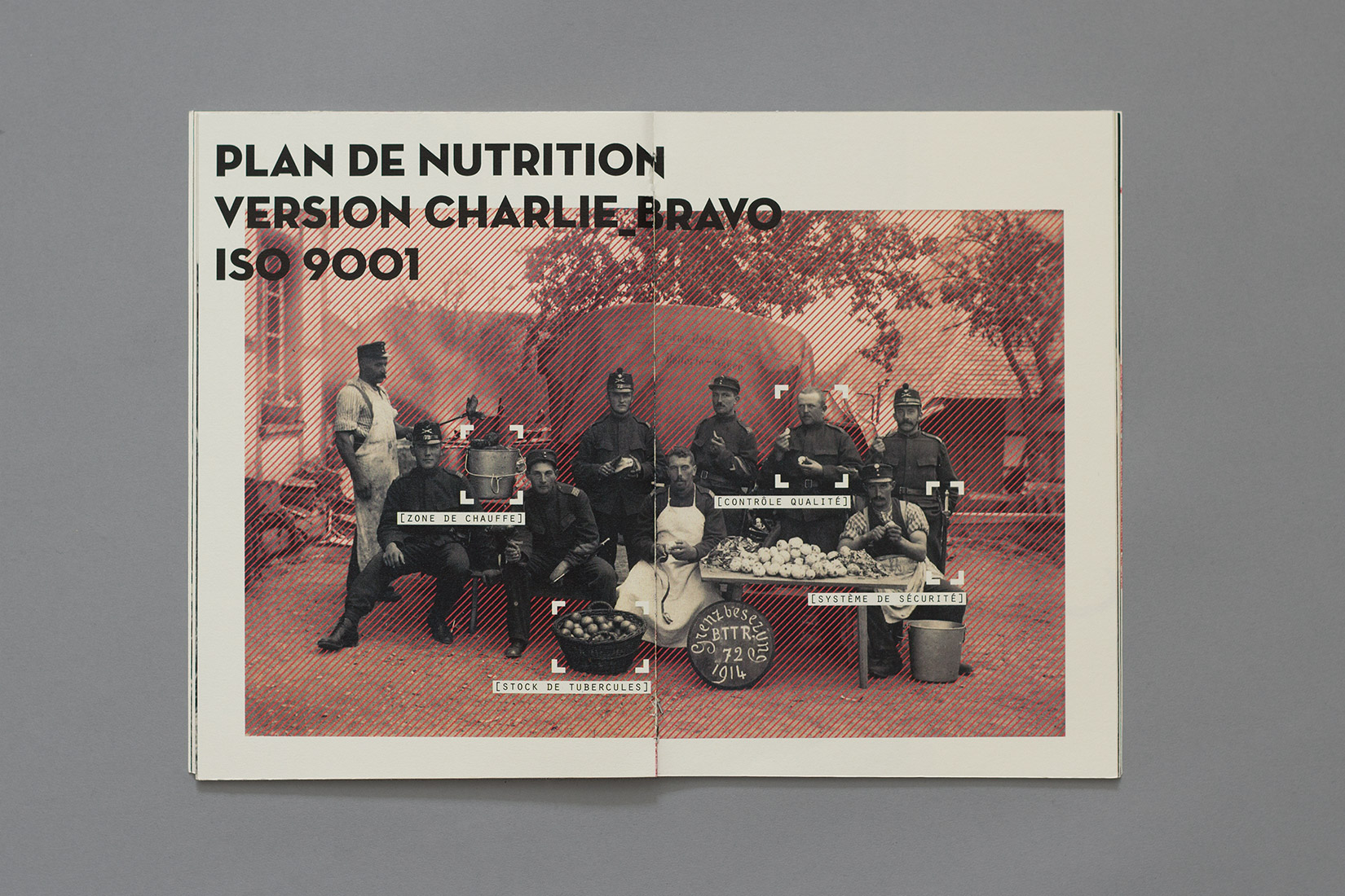 Manual for the perfect little soldier, nutrition plan version charlie_bravo iso 9001, Soldiers peeling potatoes
