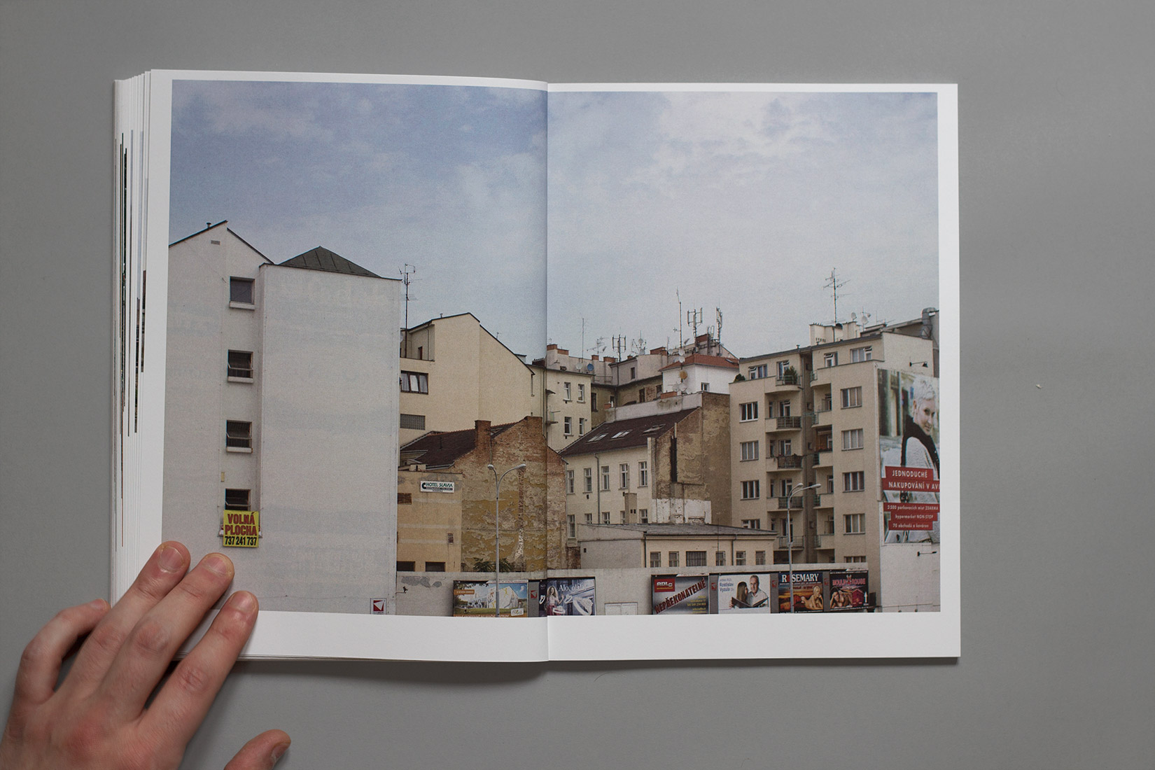 Study trip, book, Brno, photography, architecture, homes, ads